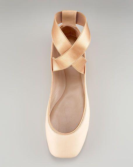c0a75c7d09e Chloe Crisscross Ballerina Flat