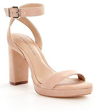 Antonio Melani Sarita Suede Platform Dress Sandals zYgftDW