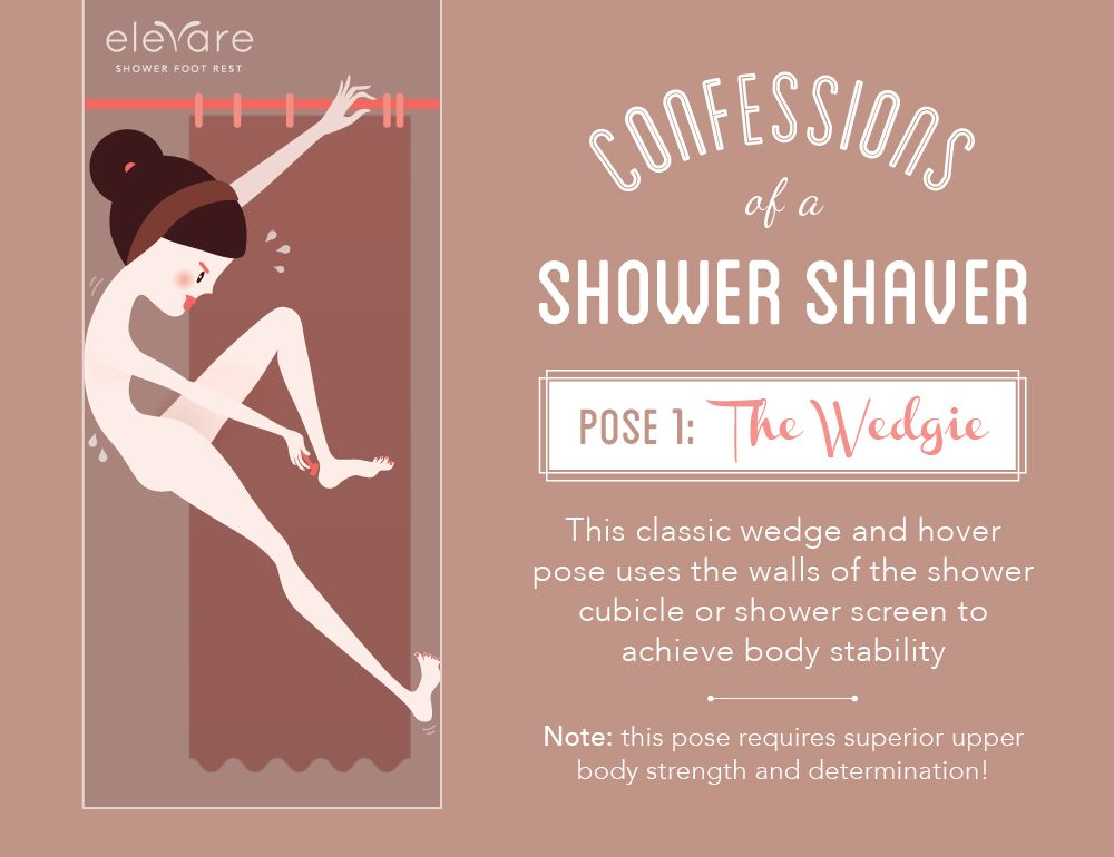 How Do You Shave Your Legs In The Shower? Confess Your Shower Stories Via @