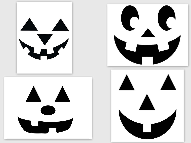 Dessin Visage Halloween.Epingle Sur Halloween