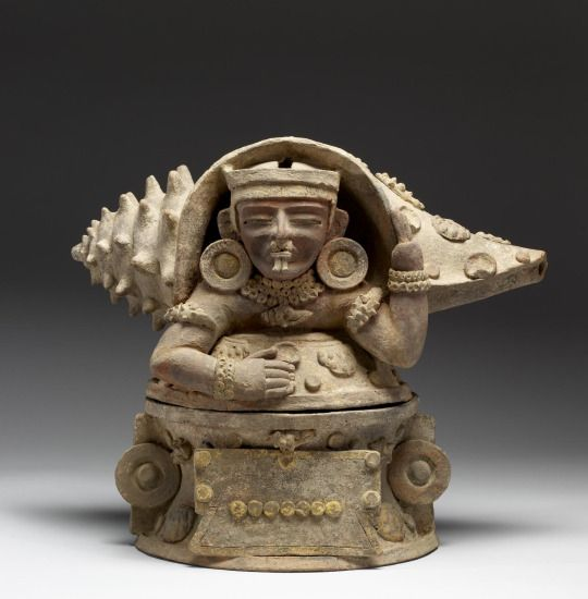 Incense Burner | Pacific Coast, Guatemala. Maya. 350-500 AD.