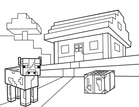 Imagens do Minecraft para imprimir e colorir   Minecraft party ideas ...