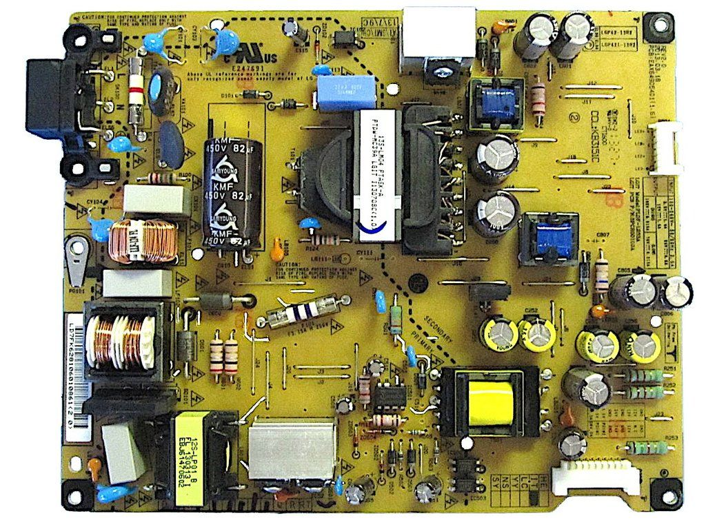 Lg Power Supply Pcb 42la620v Zabekyljg Eay62810601 17pw25 4 Circuit Diagram