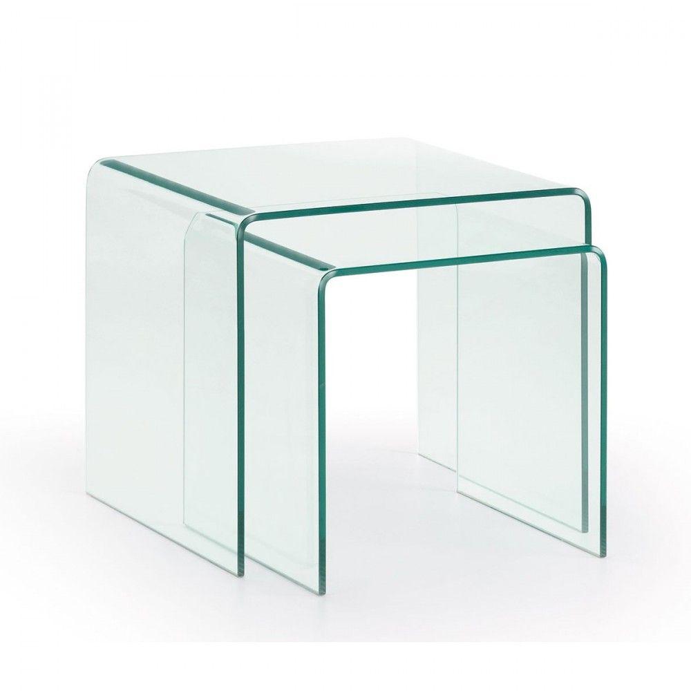 Magnifique Table Basse Tout En Verre D Coration