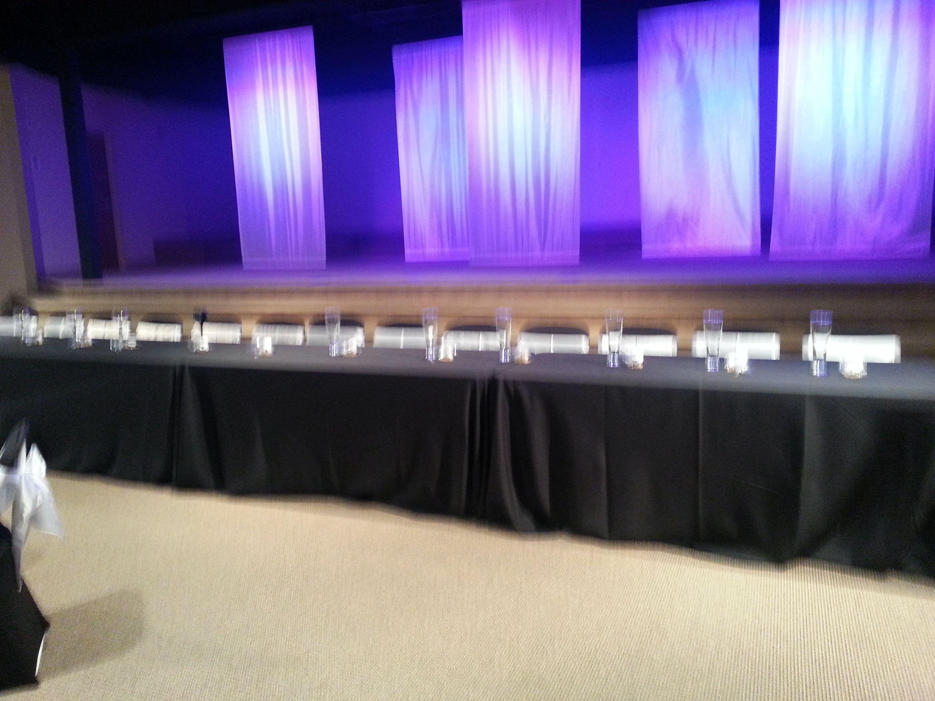 Head Table Indianapolis Venue Reception EventzPlus