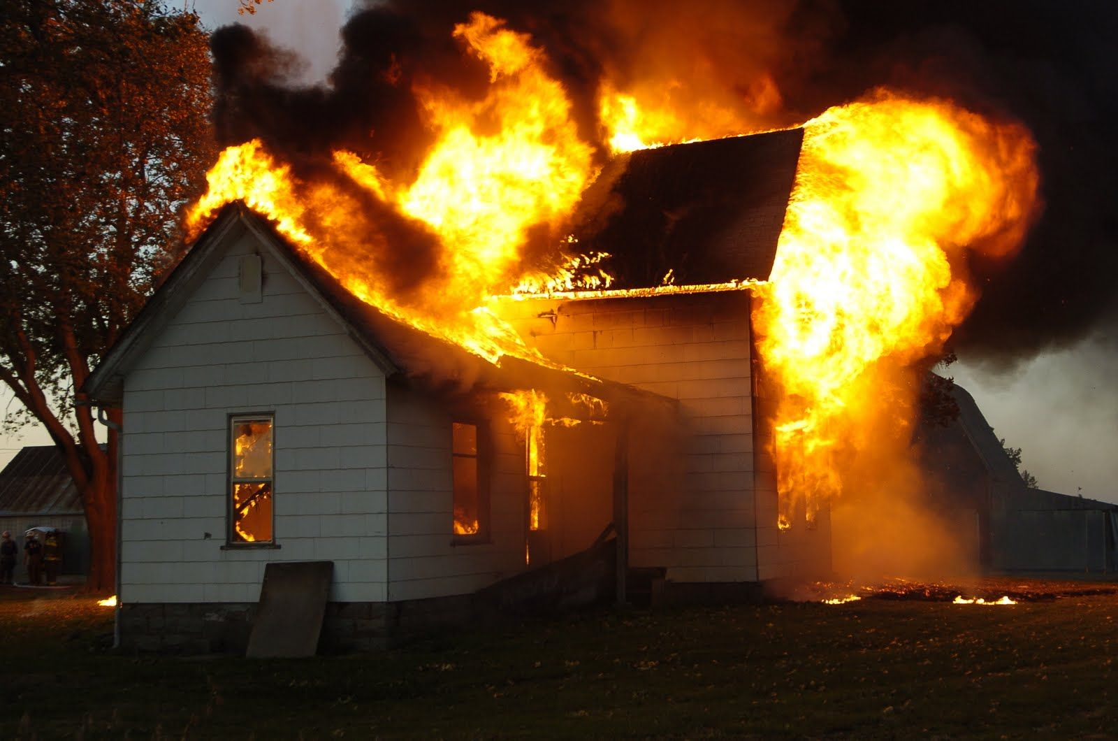 Man Runs Back Into Burning House To Save X-Box