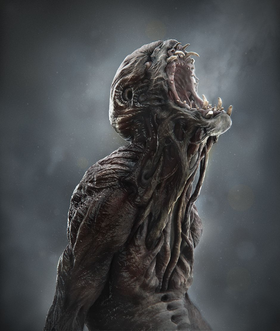 Monster by azin janati creatures 3d cgsociety for Createur 3d