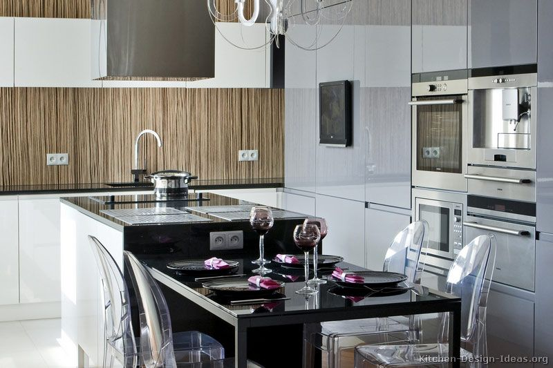 Best Contemporary European Kitchen Cabinets With An Island Hood 400 x 300