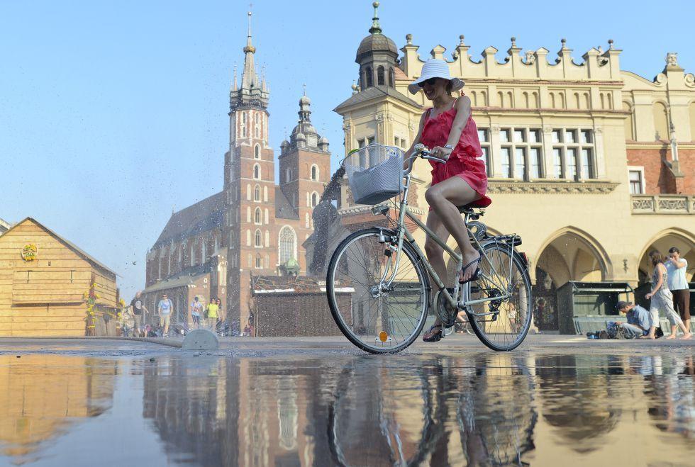 Centro histórico de Cracovia (Polonia)
