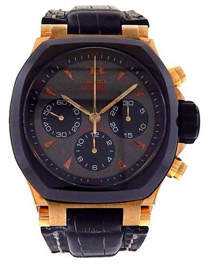 8c45526beac0 Buti Yanick Sport Ref. 12289 18k Rose Gold and Titanium Men s Watch ...