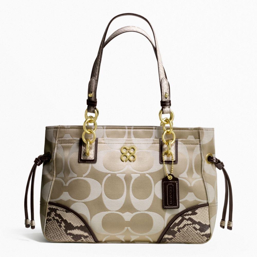 Coach Handbags | COACH handbag 16475 Collete Signature Tote ...