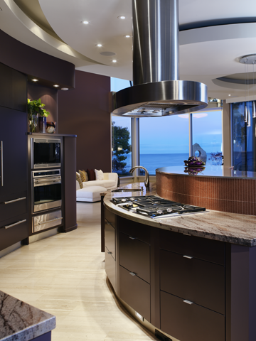 Kitchen - beautiful design - love the layout and the granite - beautiful view