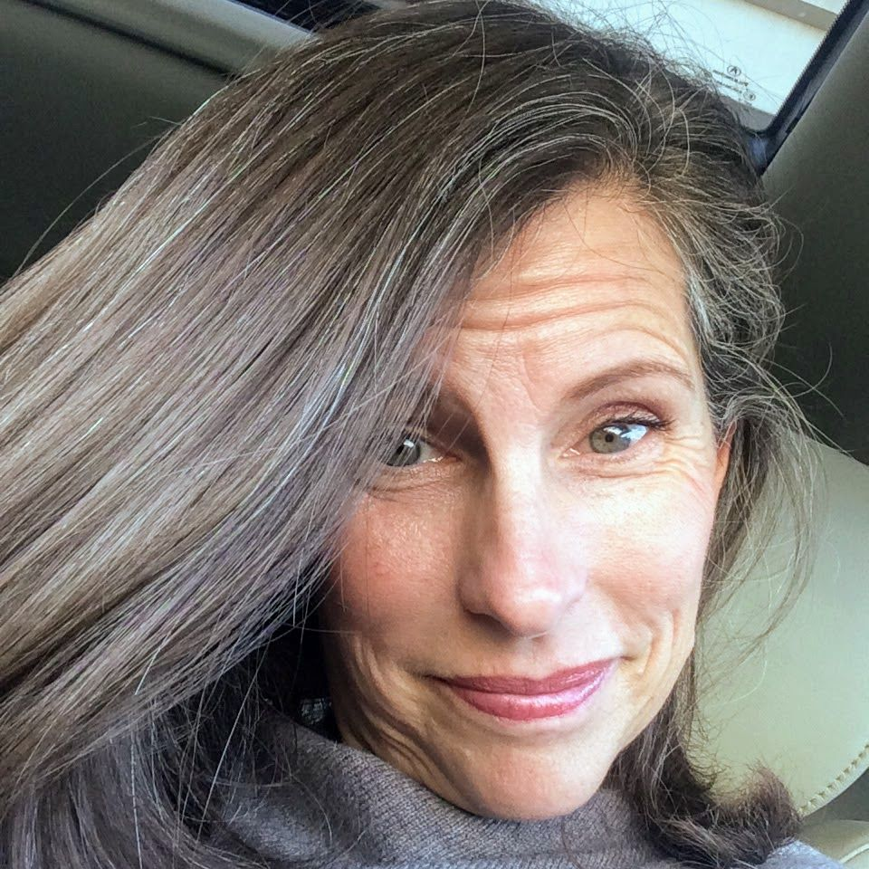 Pin on OVER50 - going gray
