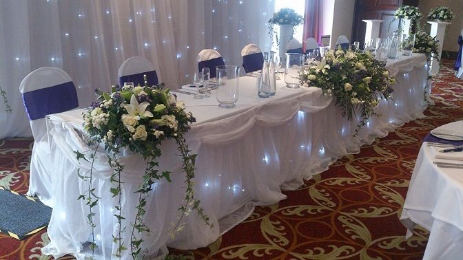 Woodyatt Warner Wedding Venue Dressers In Manchester Working Partnership With The Worsley Park Marriott Hotel To Decorate Weddings