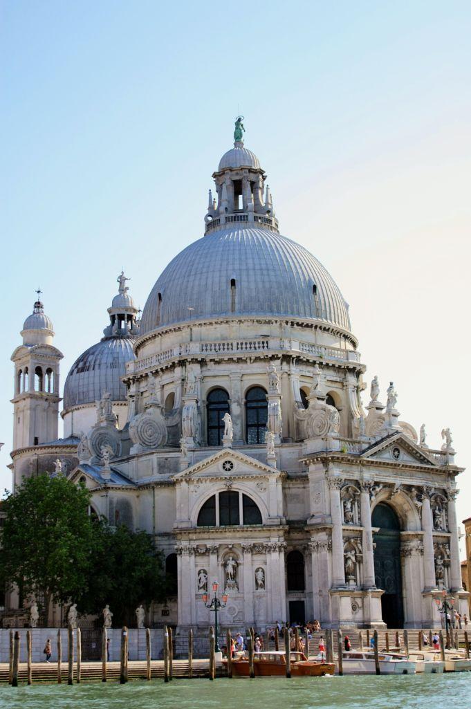 bask in the beauty of the Venetian church, Santa Maria della Salute.