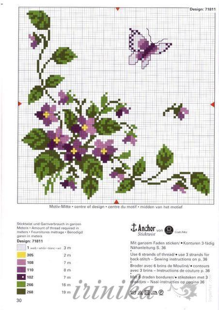 Gallery.ru / Фото #58 - схема на 1 лист - irinika