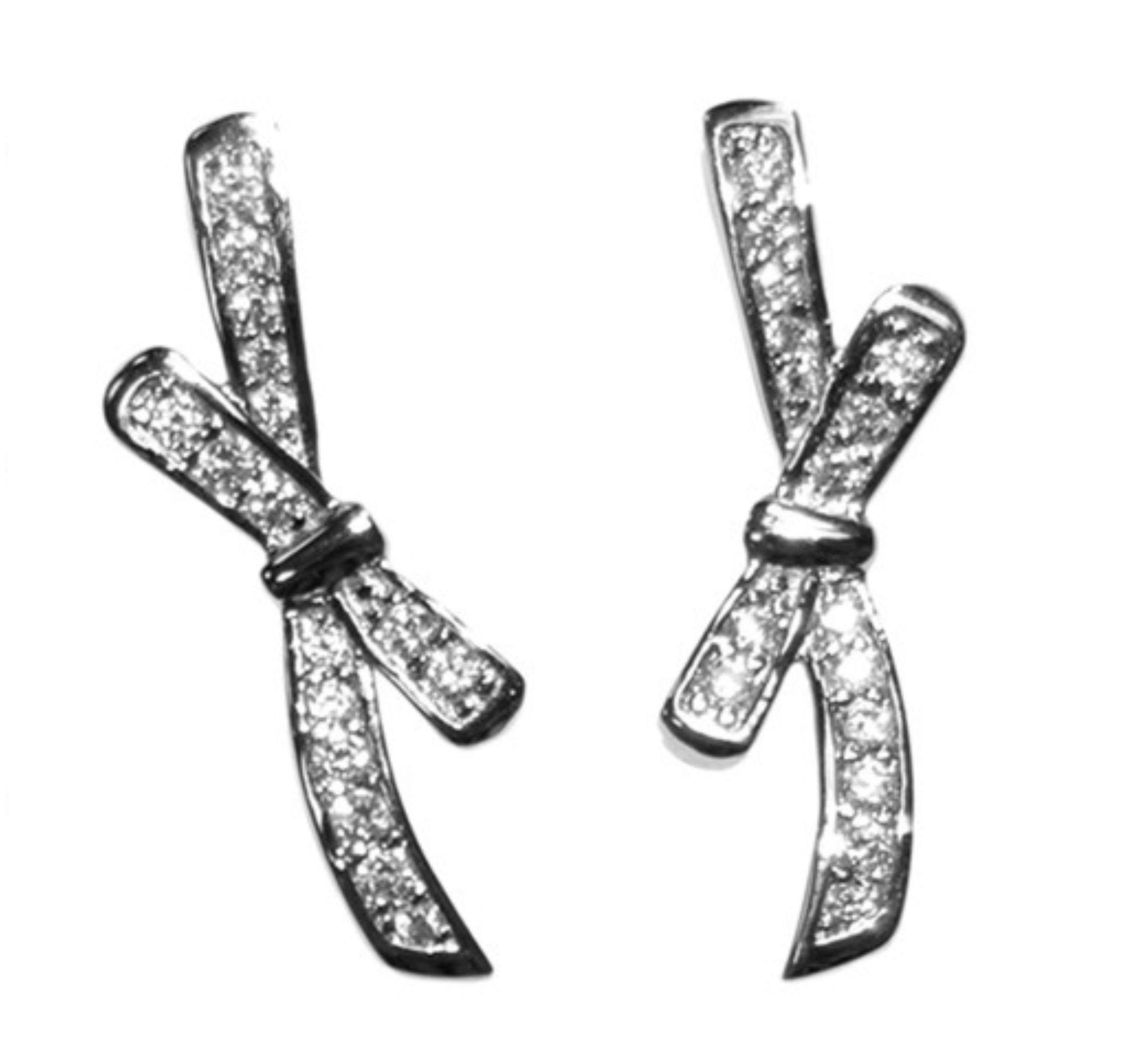 Eulee Round Cut Stud Earrings – 6mm Cubic Zirconia