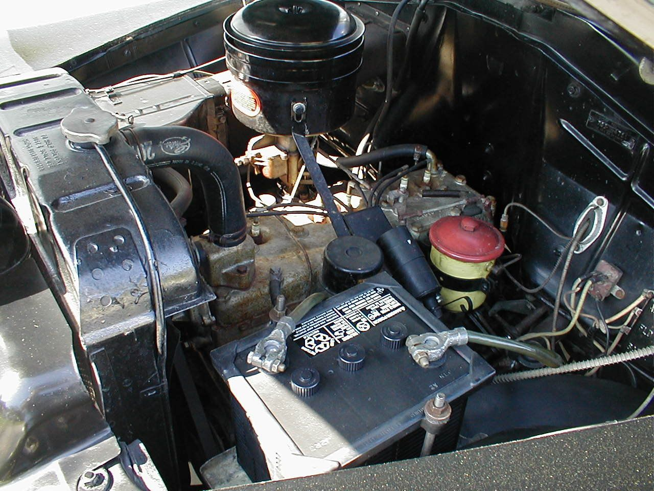 how to clean engine compartment