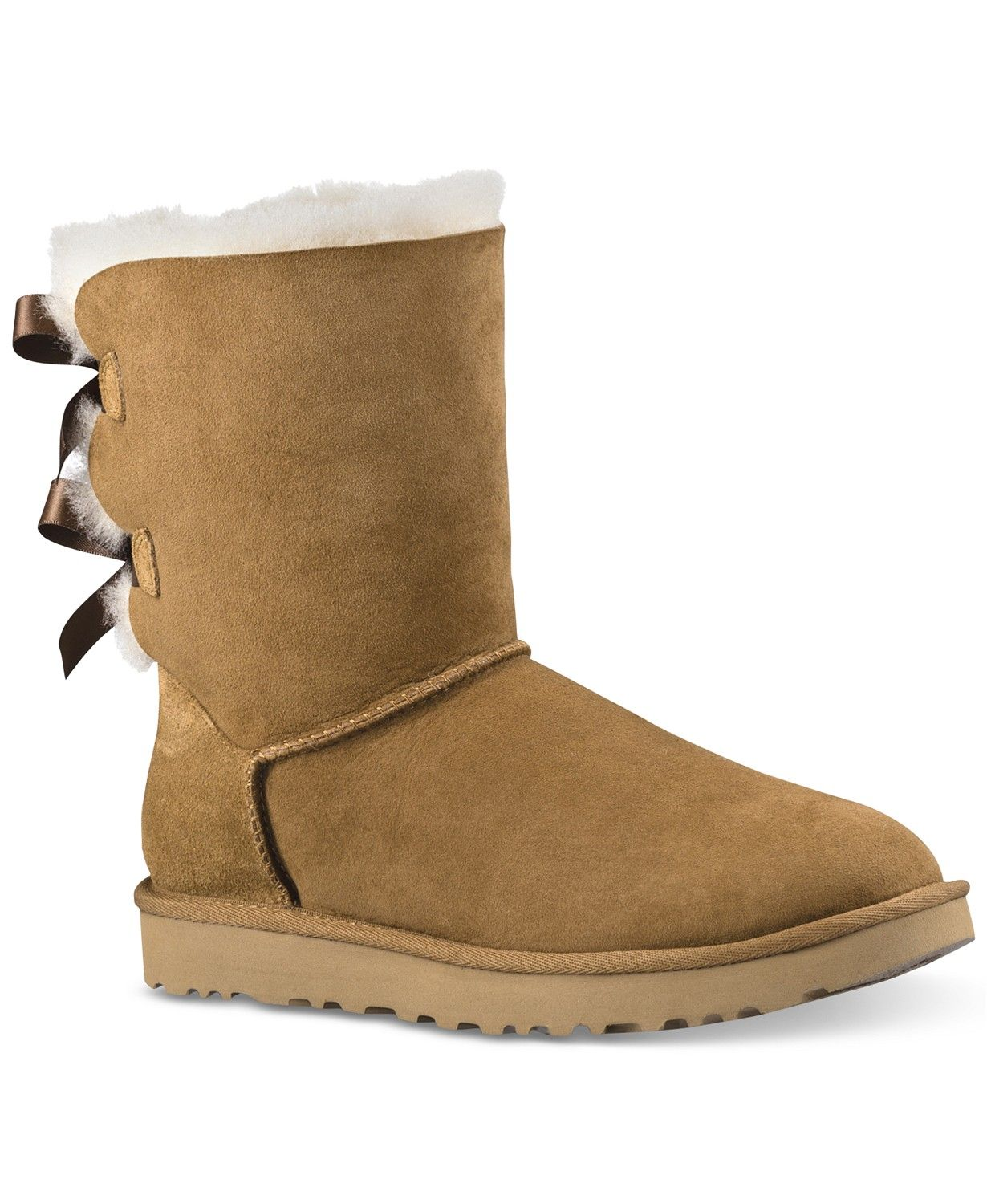460a390aae2c UGG® Women s Classic II Genuine Shearling Lined Short Boots Shoes - Boots -  Macy s