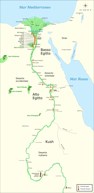 Cartina Egitto In Italiano.Piramidi Egizie Wikipedia Cartina Egiziano Antico