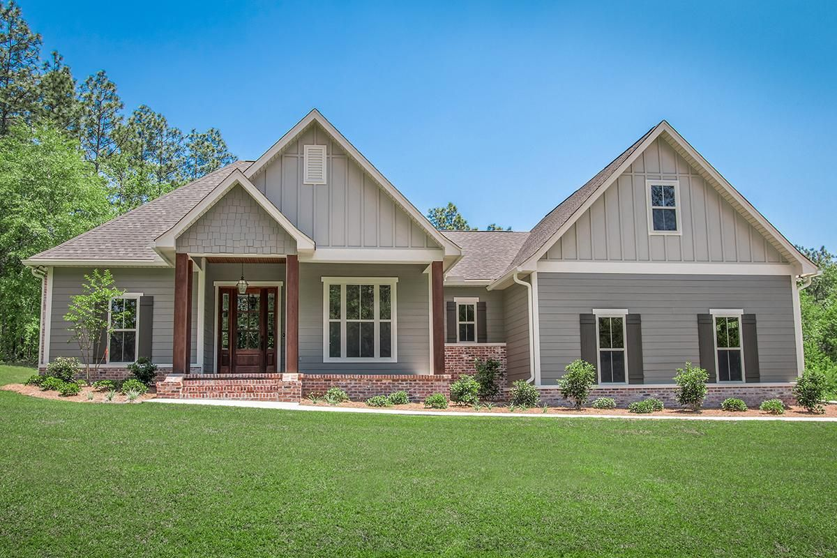 Check out Plan 04100176, a 1.5 story Craftsman house plan