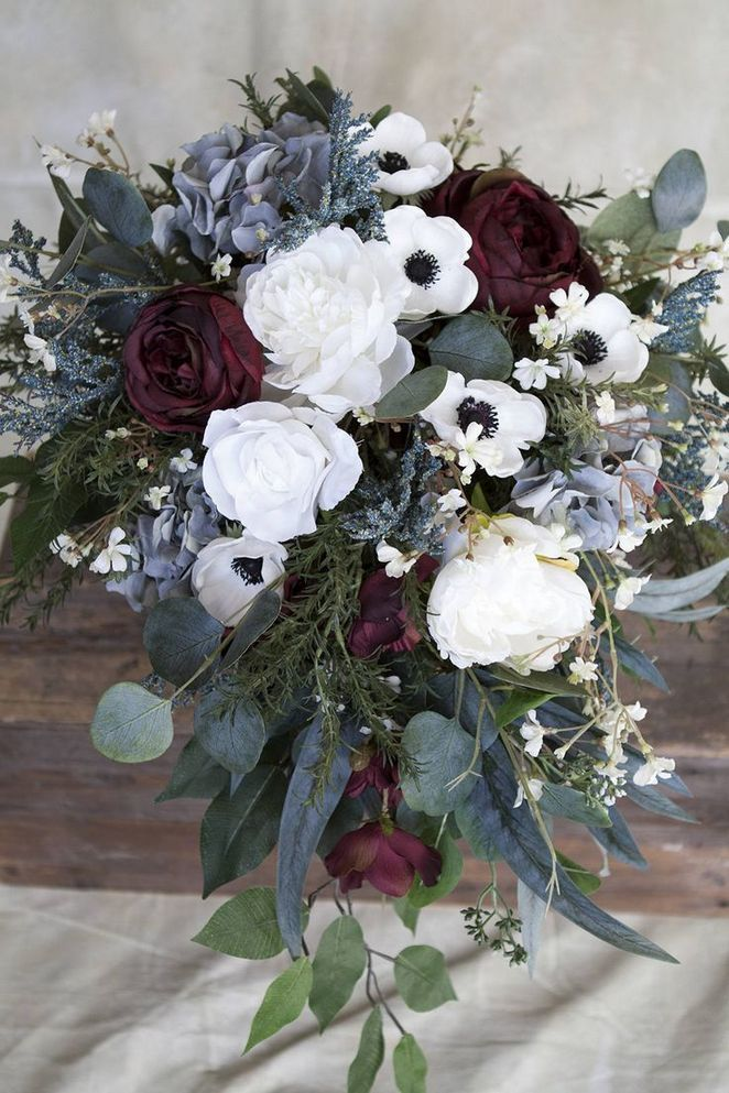 Most Noticeable Flower Wedding Bouquet Blue 106 Blumenstrauss Hochzeit Blumenschmuck Hochzeit Altrosa Hochzeit