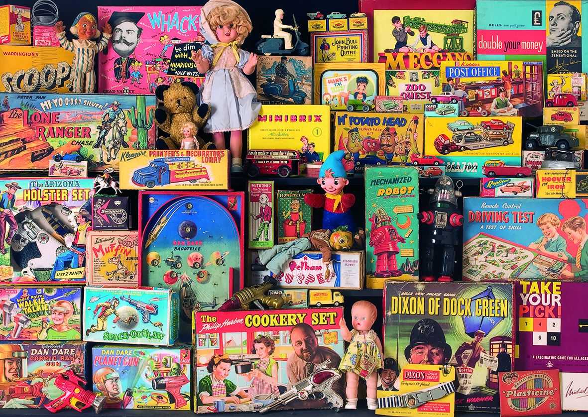 1950\'s Toy Box Memories Puzzle #jigsaw #puzzle #christmas #xmas ...