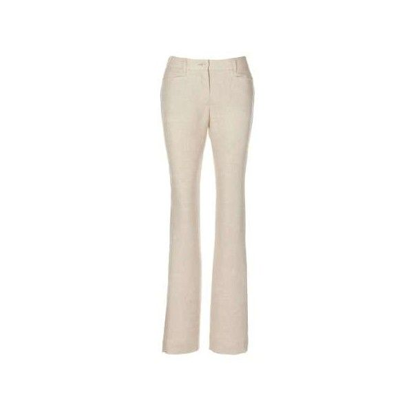 Trousers, pure linen ($120) ❤ liked on Polyvore featuring pants, summer linen pants, straight pants, summer pants, patch pants and pink linen pants