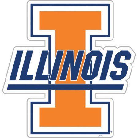 Ncaa Illinois Fighting Illini Team Magnet