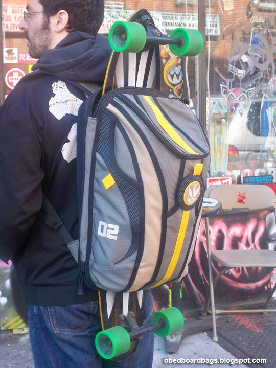 02 Obed Board Bag Diy Skateboard Electric