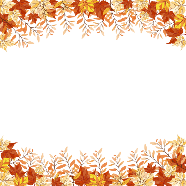 Autumn Leaves And Branches Transparent Frame Autumn Clipart Autumn Autumn Leaf Png And Vector With Transparent Background For Free Download Autumn Leaves Watercolor Autumn Leaves Flower Png Images