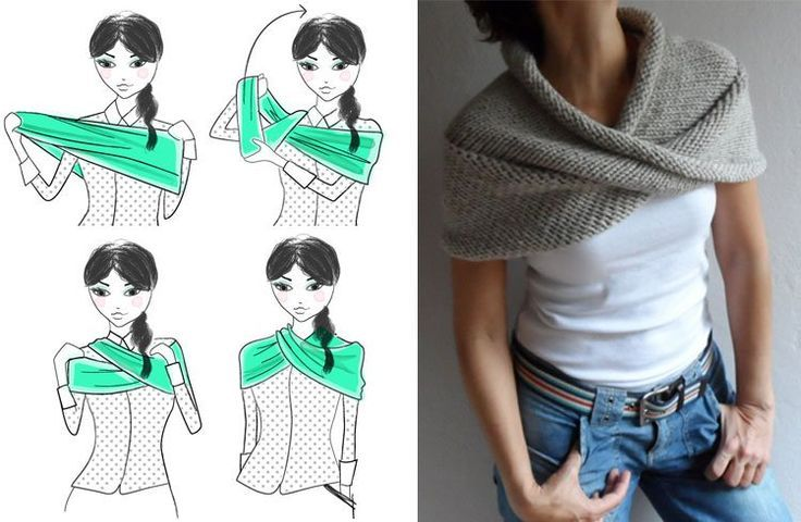 How To Wear An Infinity Scarf in Infinite Ways 2019