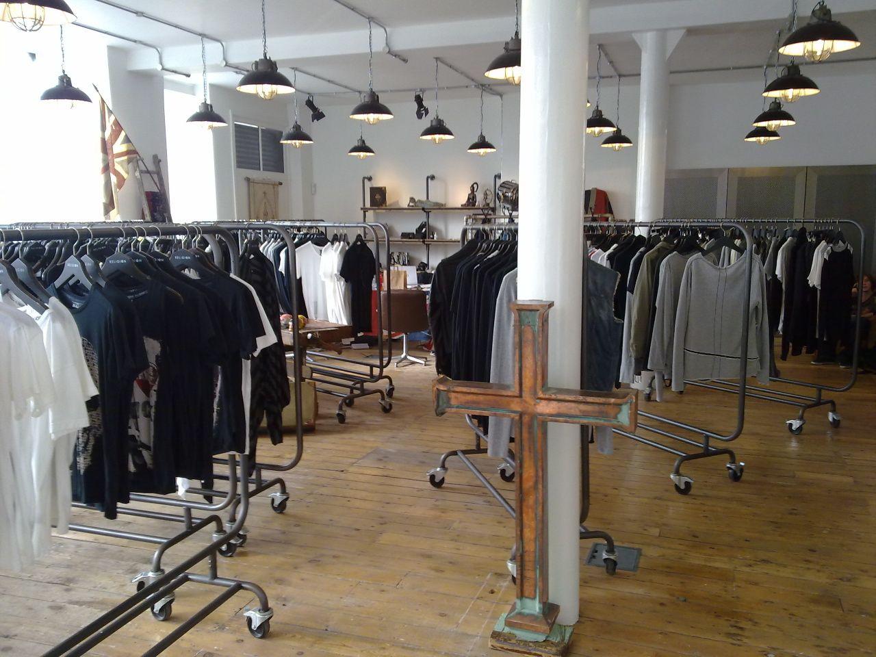 2ff015eda5cb Religion Clothing - Wholesale Showroom Religion Clothing, Canteen, Shop  Interiors, Wholesale Clothing,