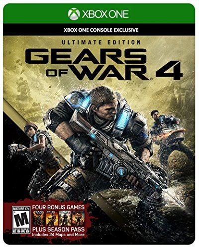 Gears Of War 4 Ultimate Edition Includes Steelbook With Con