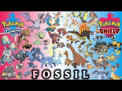 New Fossil Pokemon For Sword Shield Youtube Pokemon Stuff