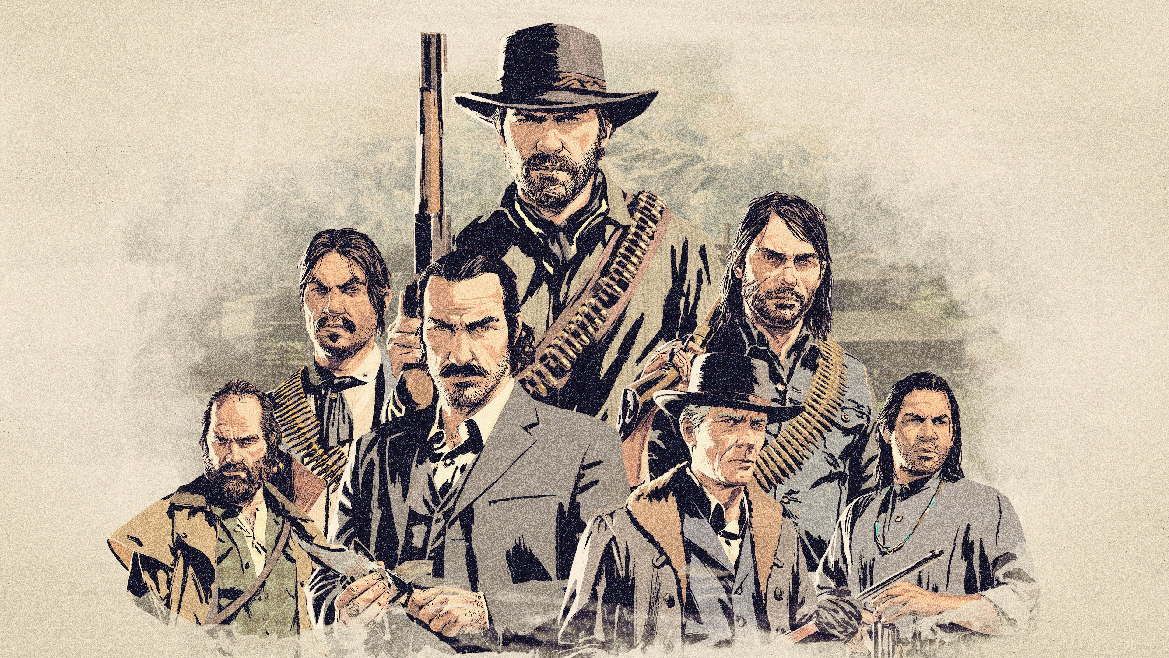 Red Dead Redemption 2 Gang Videoigry Igry