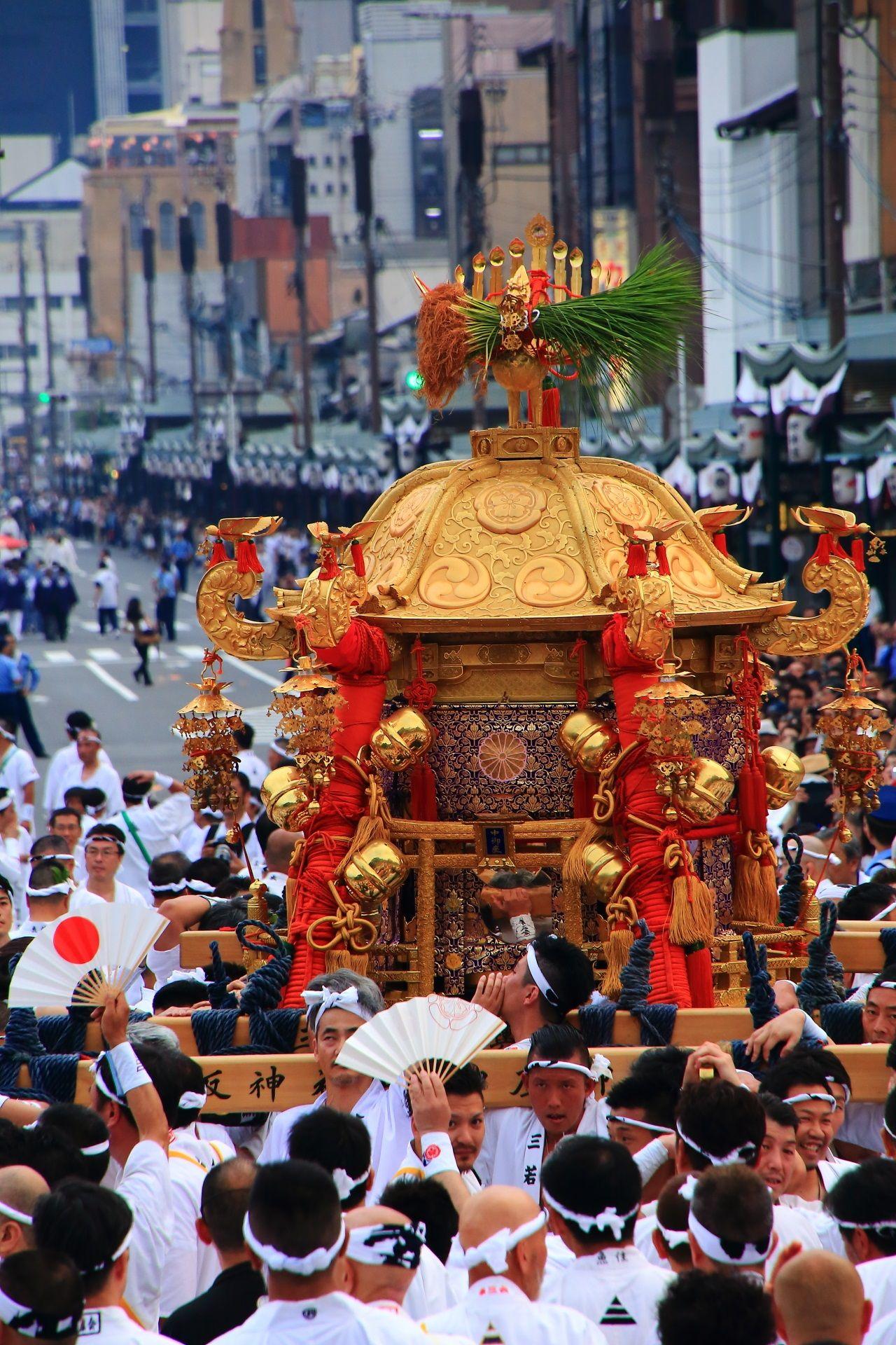暑い夏の神幸祭とお神輿 平成最後の祇園祭 | 日本 祭り, 祭, 祇園祭り