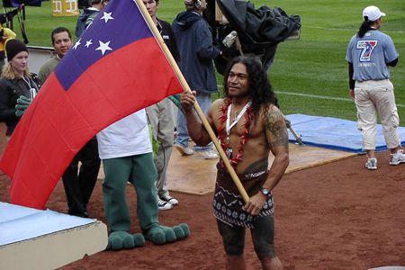 Rugby Sevens Worldcup 2007 San Diego Usa Samoan Men Hawaiian Tattoo Samoan Tattoo