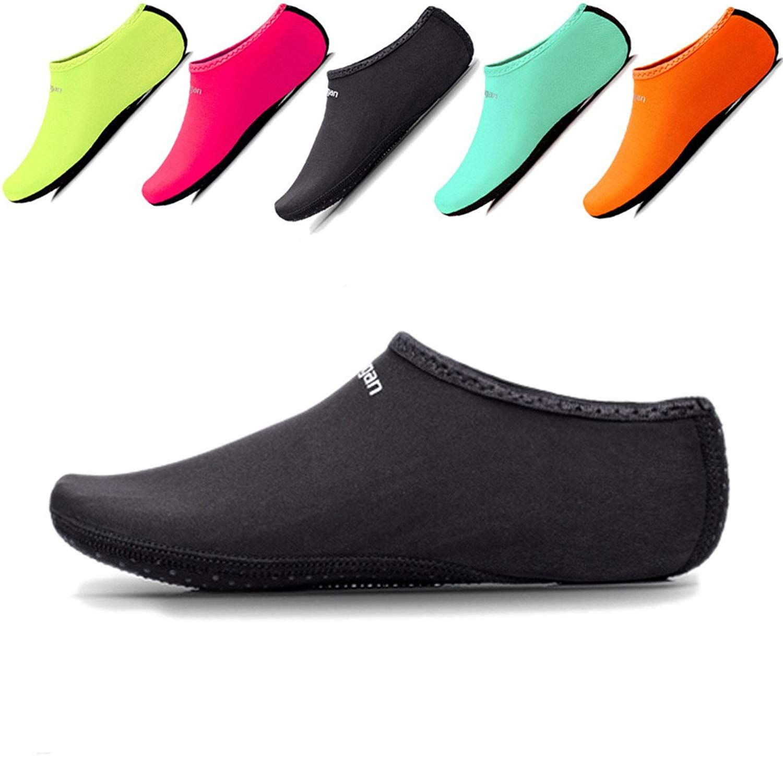 49b6d1e9a26a JIASUQI Kids,Womens Mens Classic Barefoot Water Sports Skin Shoes ...