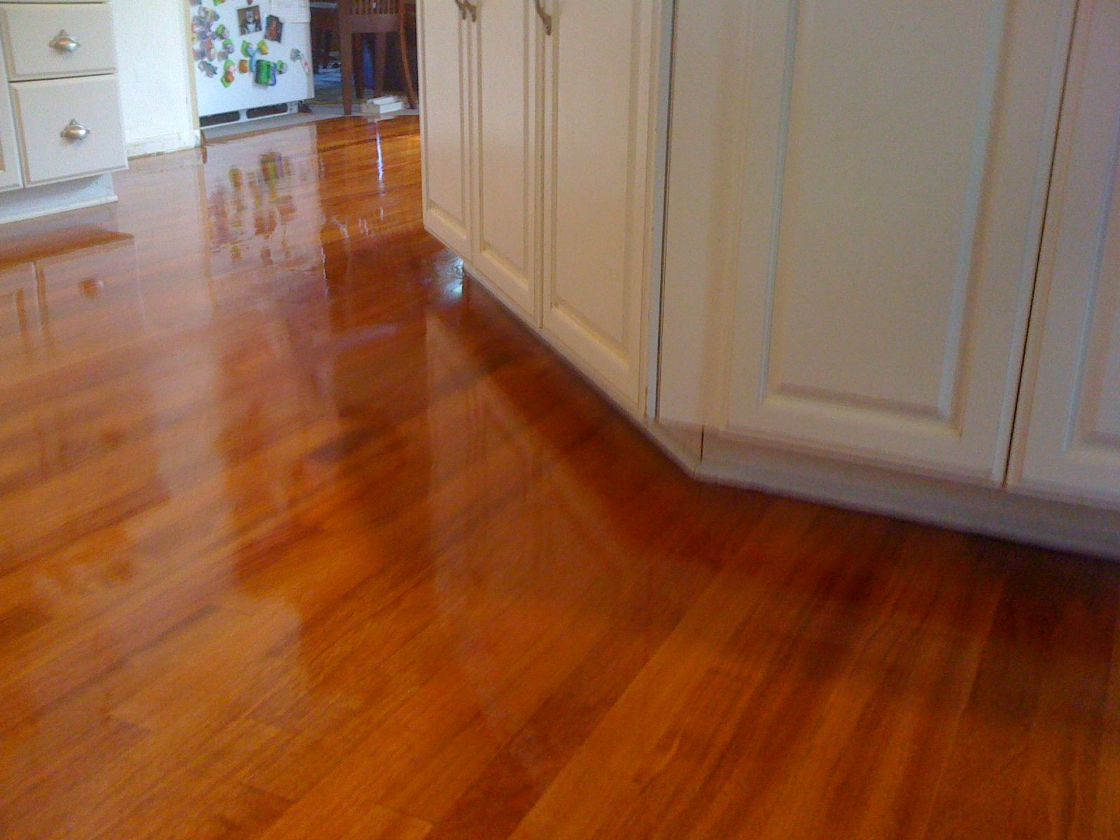 Brazilian cherry hardwood flooring jatoba unfinished for Brazilian cherry flooring