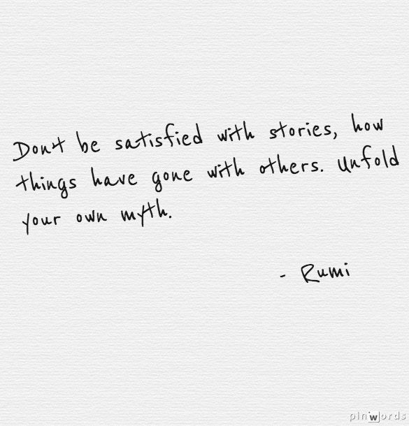 Quote This Rumi On Creating Your