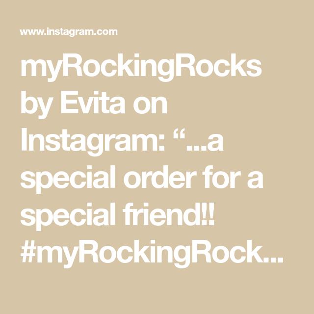 "myRockingRocks by Evita on Instagram: ""...a special order for a special friend!! #myRockingRocks #handmadeingreece #handmadegifts #giftideas #handmadewithlove #specialgift…"""