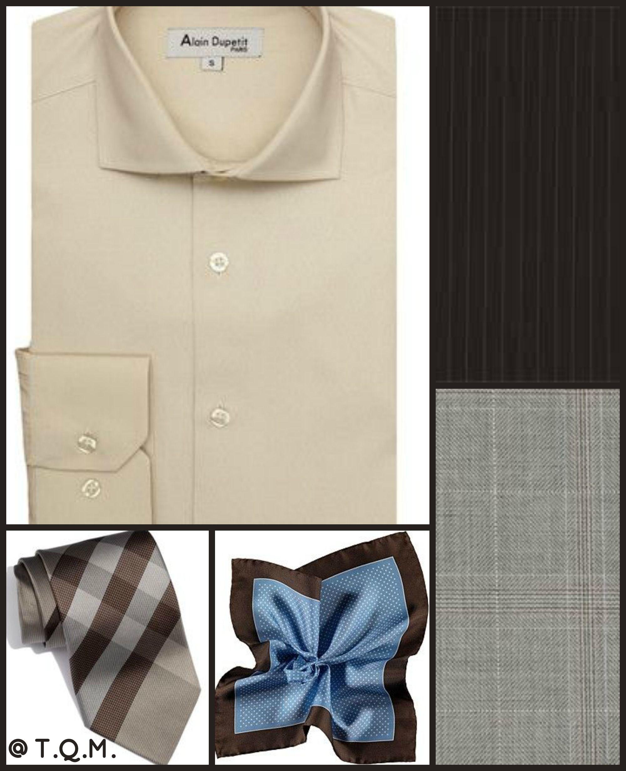 Shirttie Combo Alain Dupetitshirt Burberrytie Suit Supply