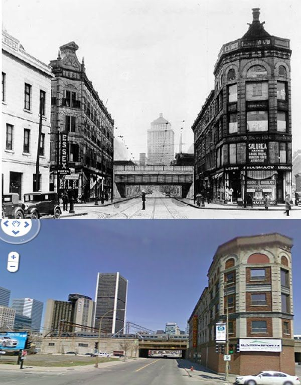 Coolopolis: Then and now Chaboillez Square
