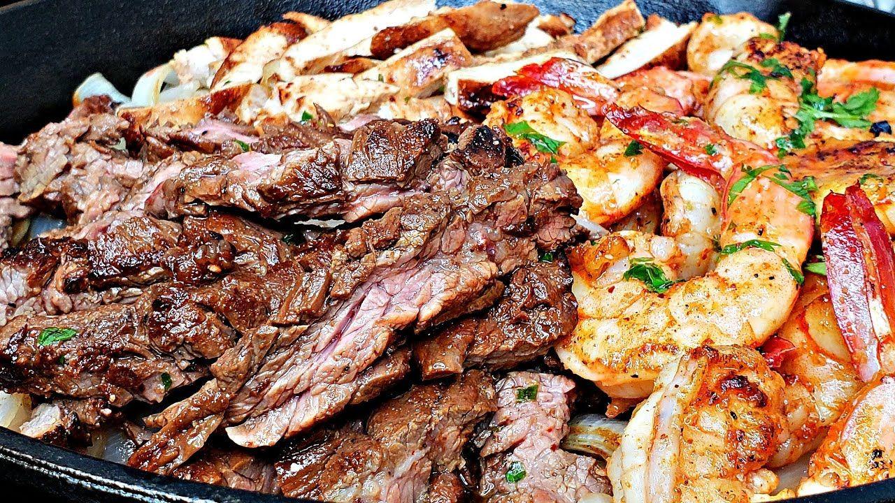 Easy Beef Fajitas Recipe | Beef and Chicken Fajitas Recipe | Easy Fajitas Recipe