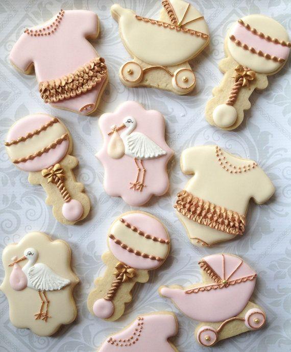 baby shower cookies baby cookies vintage baby showers decorated sugar