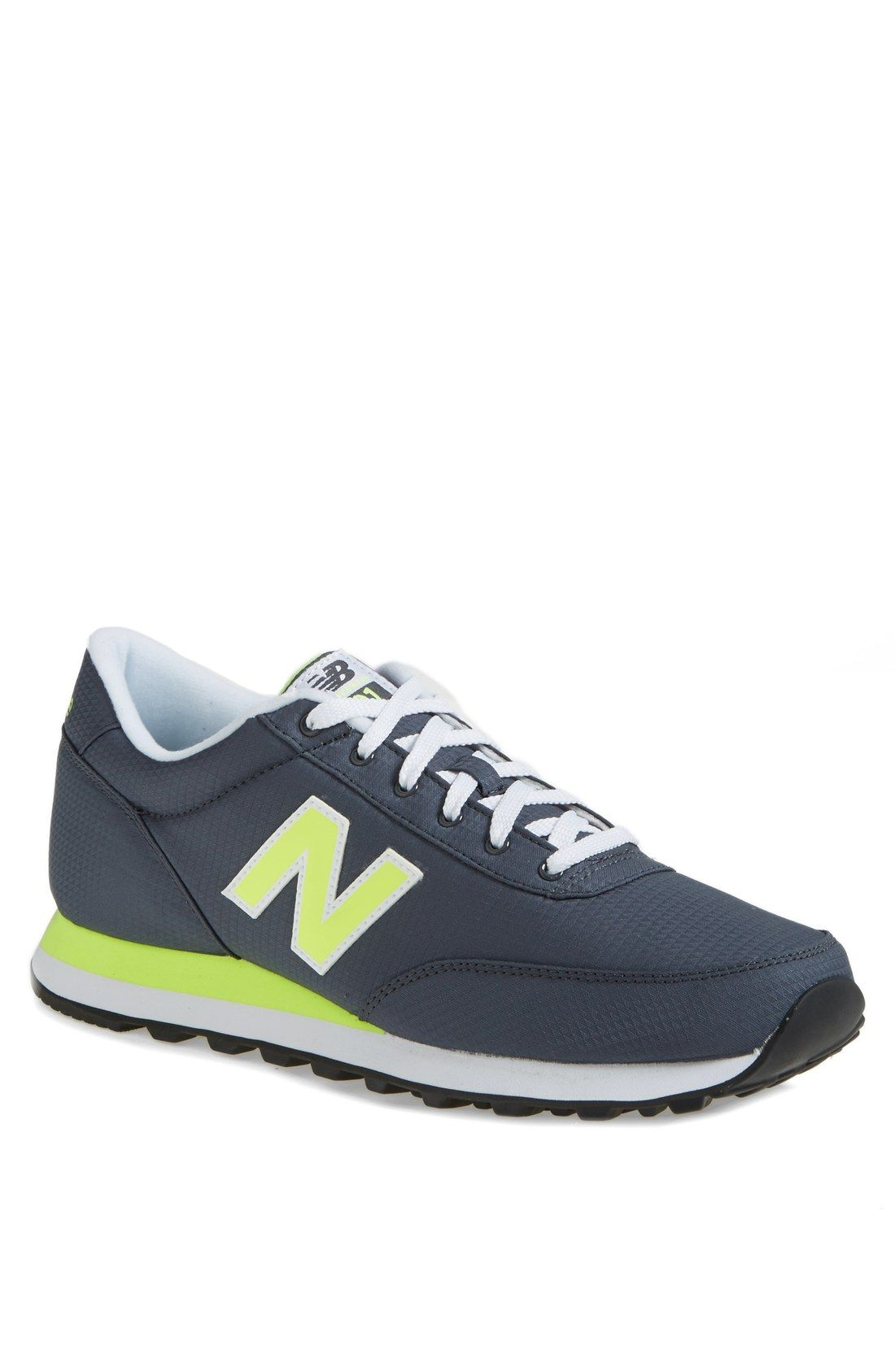 Neon New Balances.
