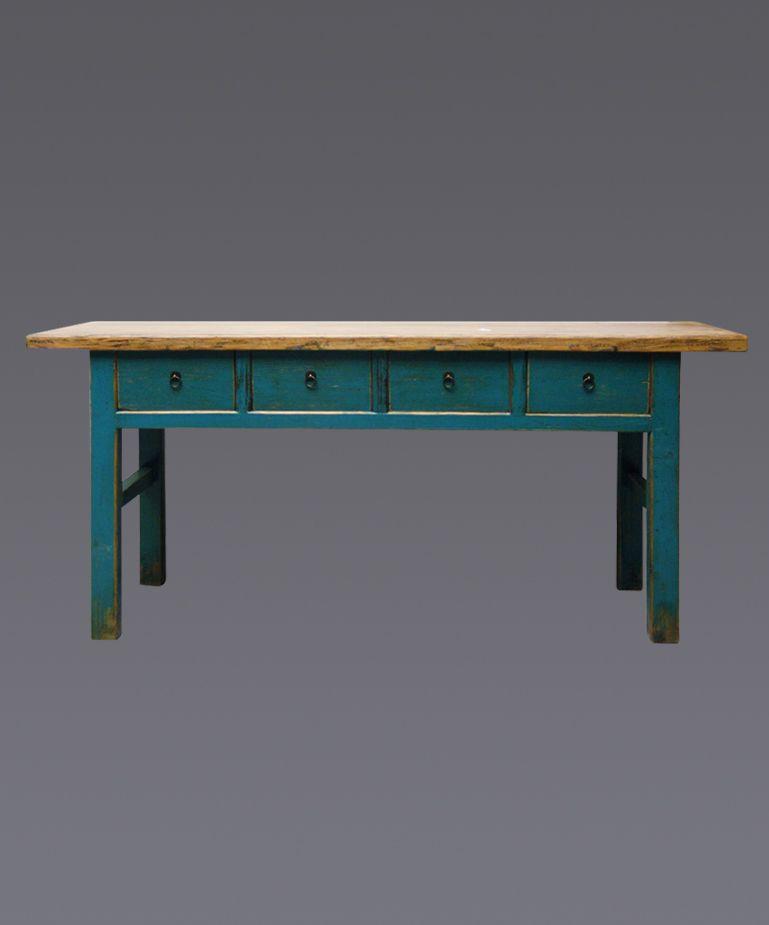 Entrancing Long Narrow High Table