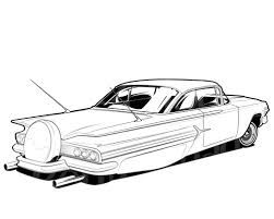 Coloring Pages For Race Cars : Image result for lowrider coloring pages cars to draw pinterest