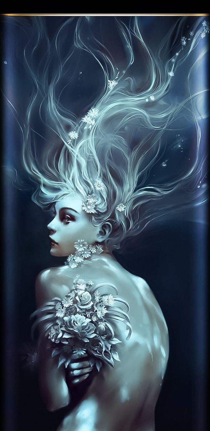 Wallpaper iphone android Mermaid art, Fantasy art, Art